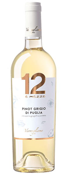 12 e mezzo Pinot Grigio di Puglia IGP