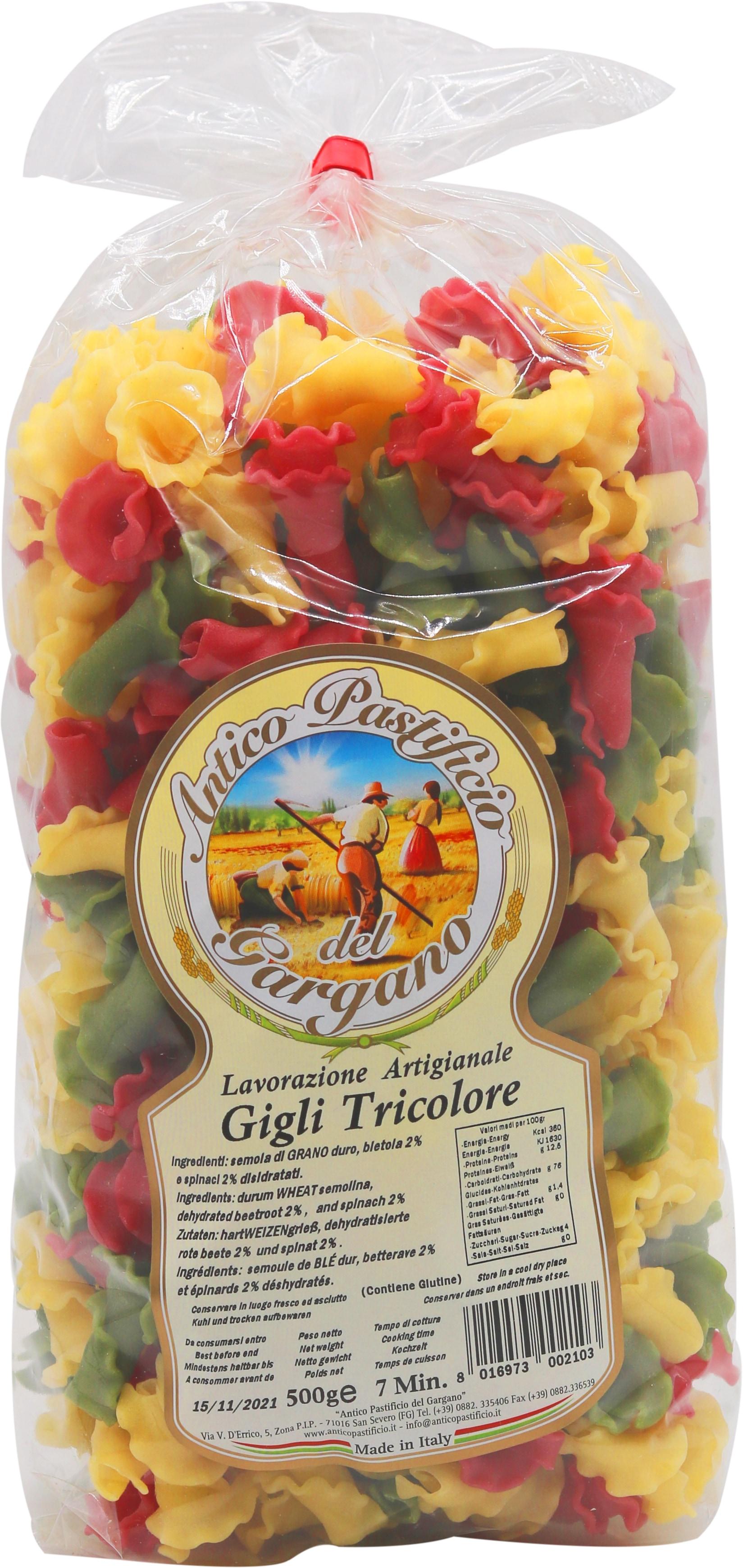 Antico Pastificio Gigli Tricolore 500g